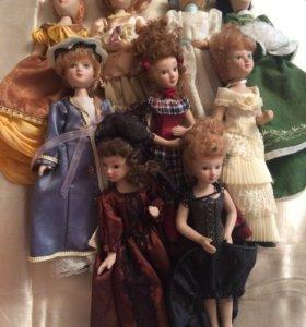 Коллекционные куклы «Дамы Эпохи»