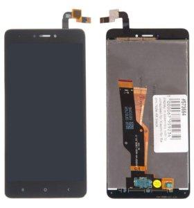 Дисплейный модуль Redmi Note 4 X чёрный