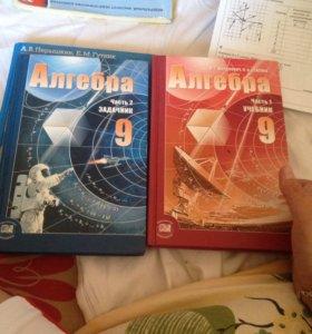 Учебник по алгебре. 9 класс.