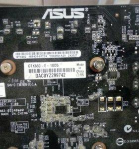 Видео карта GeForce650