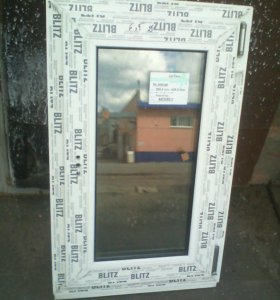 Окно новое фрамуга 810х500
