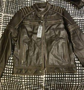 новая лимитированная кожаная куртка Affliction