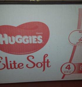 Подгузники huggies elite soft размер 4
