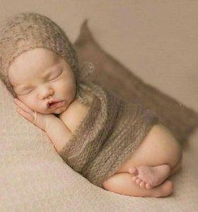 Вуаль для фотосессии малыша