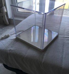 Светильник в форме куба