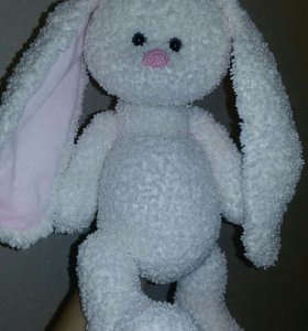 Игрушка плюшевый зайка заяц