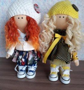 Куклы интерьерные.