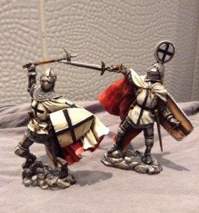 Оловянные солдатики. Оловянная миниатюра