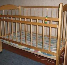 Детская кроватка СССР
