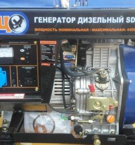 Генератор дизельный спец sd 5000e