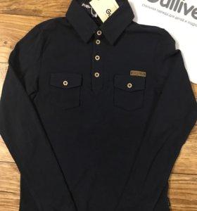 Рубашка поло новая фирмы Gulliver на 10-11 лет