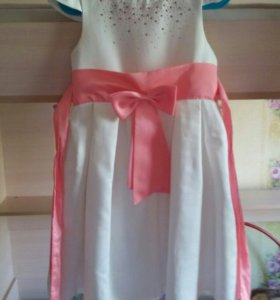 Платье для девочки 6 - 7 лет
