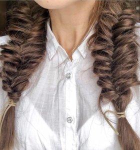 Плетение кос любой сложности