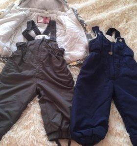 Зимний костюм + доп штаны