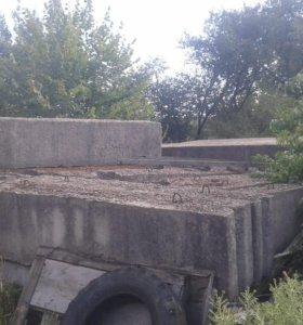 Блоки фундамента и плиты перекрытия