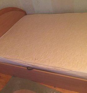 Кровать 🛏 двух спальня очень удобная