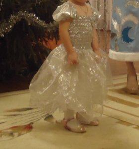 новогоднее платье на 2-4 года