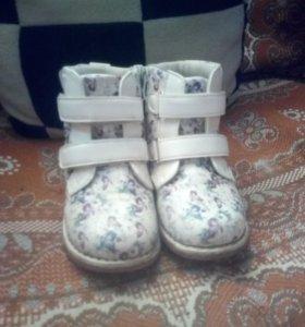 ботиночки для девочки весна - осень