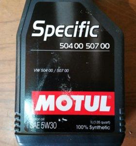 Масло Motul 5w-30, 1 литр