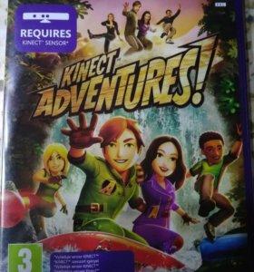 """Игра на хbox 360 """"kinect adventures"""""""