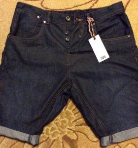 Джинсовые шорты новые 50(L) (34)