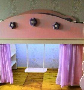 Кровать- домик для принцессы