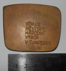 Настольная тяжелая медаль Шумперк