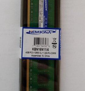 DDR3 4GB 1600 MHz