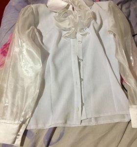 Белые (школьные) блузки