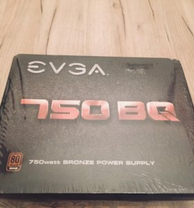 Блок питания EVGA 750w BQ