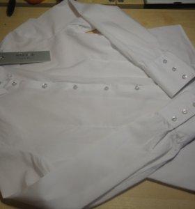 Блузка для школы 146 рост