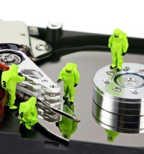 Восстановление данных после форматирования памяти