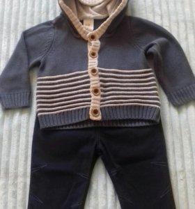 Комплект джемпер + джинсы