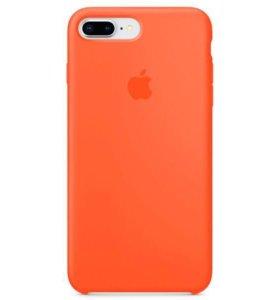 Чехол силиконовый оригинальный для IPhone 8/7 Plus