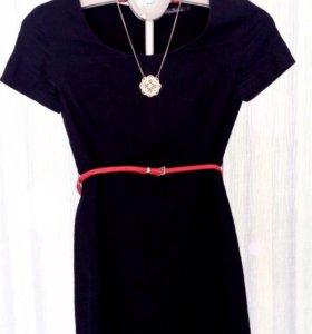 Платье с ремнём, б/у, р.S, Kira Plastinina