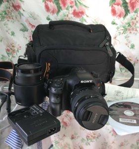 Фотоаппарат sony slt a65 сони alpha65