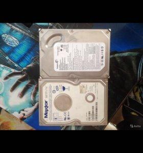 Жесткие диски по 120GB Seagate