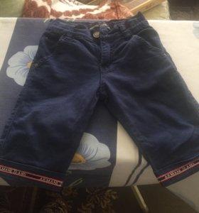 Бриджи джинсовые на мальчика 3-4 года