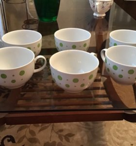 Чашки чайные