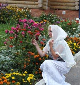 Пошив платков для похода в церковь