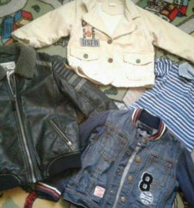 Куртки новые пакетом 2-4г