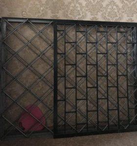 Решетки на окна. Новые.