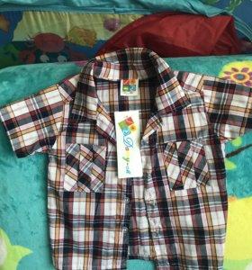 Продам рубашку р 92