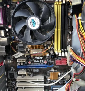 Материнская плата ASUS с процессором AMD