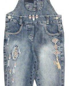 Комбинезон джинсовый для девочек