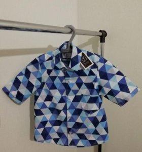 Рубашка- безрукавка