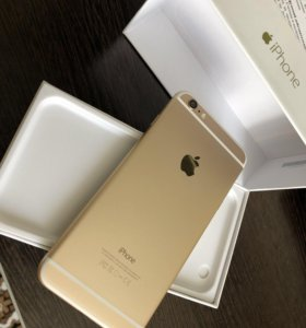 iPhone 6Plus ,16gb,gold,идеальный