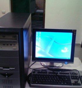 ПК монитор клавиатура