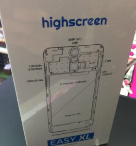 Новый Highscreen easy XL