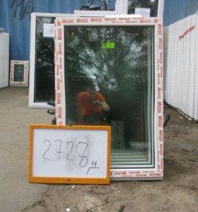 Окна Готовые Пластиковые 1200(в) х 800(ш) № 2728Н